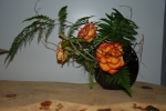 Citrus roses and fern