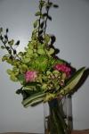 Green sceptor style bouquet