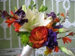 Colorful summer bouquet